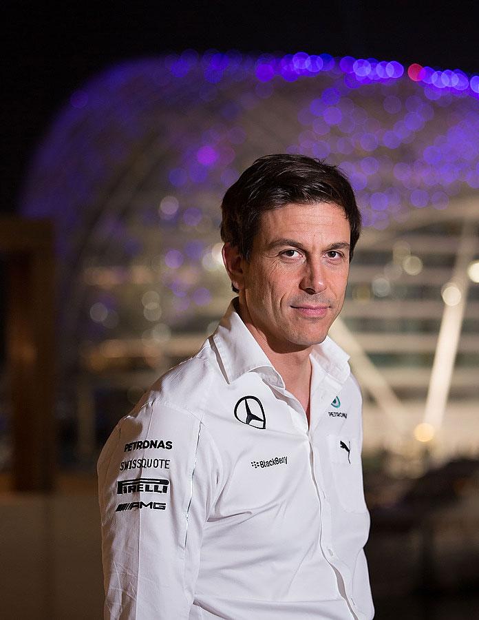 Toto Wolff Mercedes F1