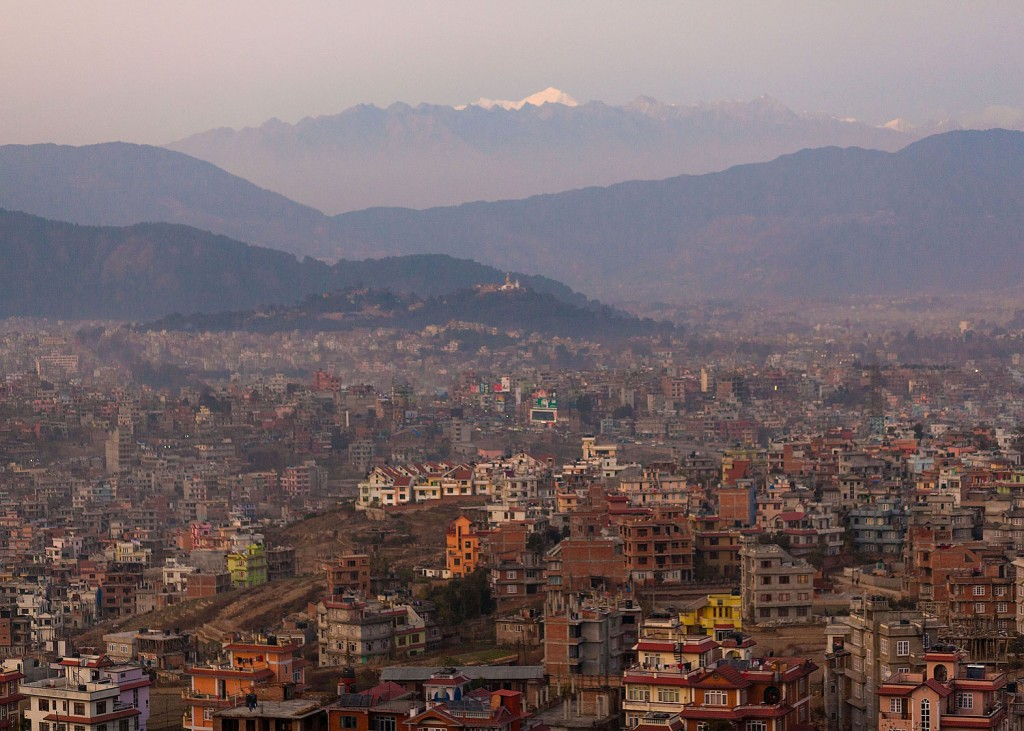 Kathmandu Valley is home to eleven Kumari. The young girls are said to be the reincarnation of the Hindu Goddess Durga into a Buddhist family and are worshipped by both faiths in Nepal.
